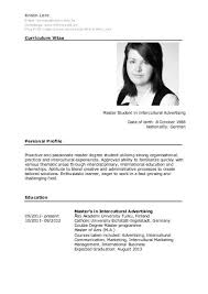 Resume In English 1 Free Magazines From Kristin Lenz De