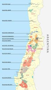 Oregon Wine Country Map by A Beginner U0027s Guide To Chilean Wine Serious Eats