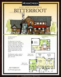 mountain architecture floor plans bitterroot builder floor plan the coves mountain river club