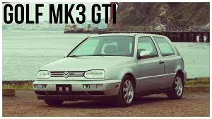 volkswagen hatchback 1999 1993 1999 volkswagen golf mk3 gti youtube