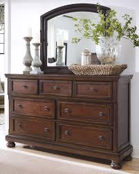 Bedroom Sets Kcmo Renaissance Triple Dresser U0026 Mirror B697 31 36 Dressers