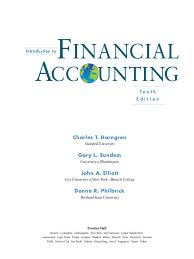 horngren introduction to financial accounting 10e 1 equity