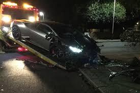 lamborghini crash star diafra sakho crashed his very expensive lamborghini