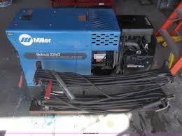 miller bobcat 225g welder generator item c1767 sold mar