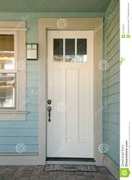 home front door closed white door of a home stock images image 34794624
