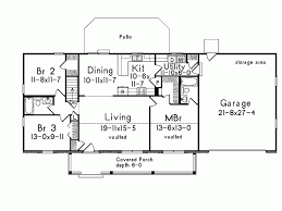eplans country house plan twin bay windows 1400 square feet