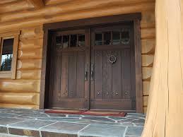 Back Exterior Doors Wood Exterior Doors Color Design Ideas Decors Fascinating