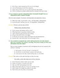 commas worksheet