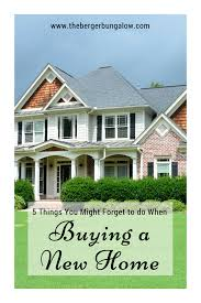 the berger bungalow 5 things you might forget to do when buying a