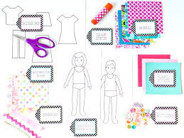 printable paper doll templates make your own dolls for alluring