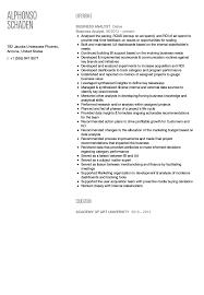 sample resume for senior business analyst senior business analyst resume 46 elegant photograph of