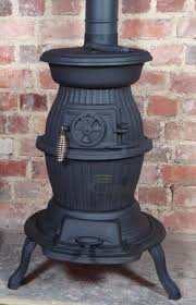 cast iron pot belly wood burning stove for narrow boat workshop