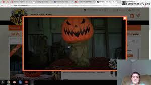 spirit halloween 2016 new animatronics youtube