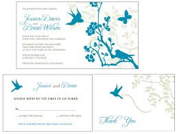 Online E Wedding Invitation Cards Enticing Wedding Invitation E Card Sample Idea With Blue Bird