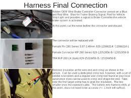 dyi trailer hitch wiring holden oem install w pics pontiac