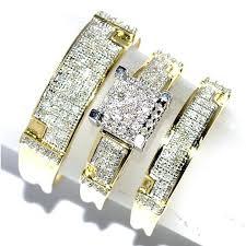 Wedding Ring Trio Sets by Womens Diamond Ring Womens Wedding Rings U2013 Freundschaftsring Co
