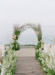 wedding arches chicago ethereal garden inspired morning ceremony brunch designed by