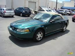 2000 ford mustang colors 2000 amazon green metallic ford mustang v6 convertible 57877275