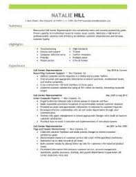 resume profile section examples resume profile