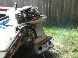 1974 evinrude 115 runs poorly and misfires youtube