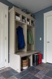 Mudroom Design Taupe Mudroom Built In Cabinets Design Ideas