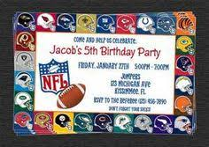 Nfl Decorations Birthday Rookie Football Themed Birthday Shirt Sizes 6m