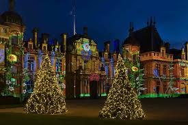 waddesdon manor waddesdon manor christmas 2017 winter light festival