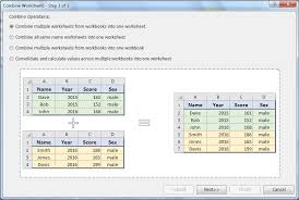 best ideas of how do you combine multiple excel worksheets into
