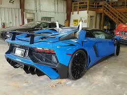 salvage lamborghini aventador for sale 2017 lamborghini aventador 6 5l salvage car for sale auction in