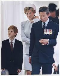 Princess Of England The Prince And Princess Of Wales With Prince Harry Royalty