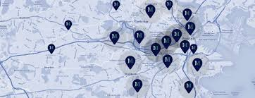 Map Of Boston College Property Management Service Boston Mediate Management