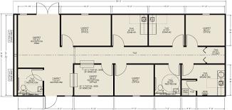 clinic floor plan ellis modular buildings healthcare facilities floor plans
