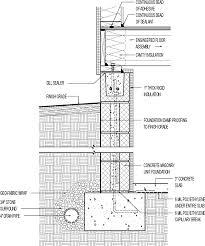 Concrete Block Floor Plans Insulated Crawl Space Concrete Block With 1 In Interior Rigid