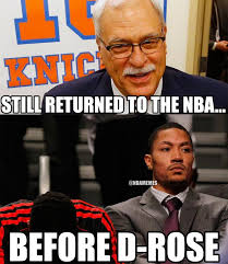D Rose Memes - nba memes on twitter phil jackson vs derrick rose knicks