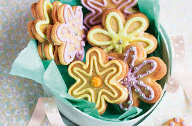 flower biscuits recipe easter biscuit recipes tesco real food