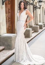 jovani wedding dresses jovani white lace feminine wedding dress size 10 m tradesy