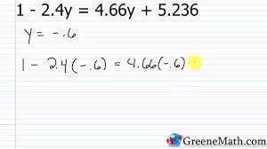 algebra i practice set 6 solving equations with fractions or decimals
