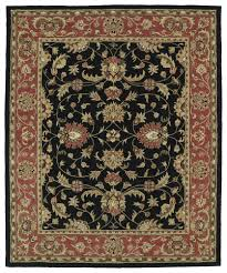Black And Red Area Rugs by Taj Black Red Area Rug Products Pinterest Products