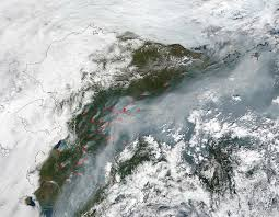 Alaska Fire Map by Unusually Large Number Of Fires Across Alaska Nasa