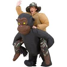 Camel Halloween Costume Inflatable Riding Gorilla Halloween Costume Walmart