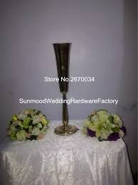 Cheap Gold Centerpieces by Online Get Cheap Gold Wedding Centerpiece Vases Aliexpress Com