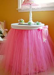 Pink Table Skirt by Tutu Table Skirt Ideas They U0027re Not Just For Little Girls