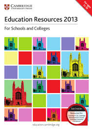 cambridge education resources 2013 catalogue by cambridge