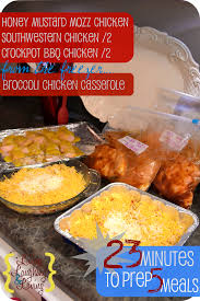 Dinner For The Week Ideas 5 Dinners In 1 Hour Living Laughing U0026 Loving