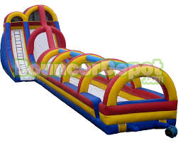 Blow Up Furniture by Blow Up Water Slides 24 Feet Giant Blow Up Water Slides