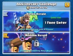 Best Challenge Clash Royale Modern Retro Challenge Decks Best Decks For