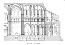 Gothic Church Floor Plan by Medieval Vézelay Plans And Drawings
