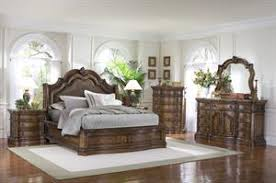 Pulaski San Mateo Sleigh Bedroom Set High Point Discount Furniture