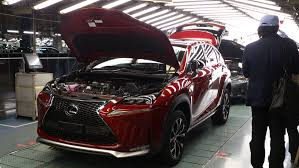 lexus nx 300h electric range lexus lexus nx300h first units out of the production line
