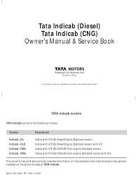 tata indicab diesel u0026 cng manual diesel engine car